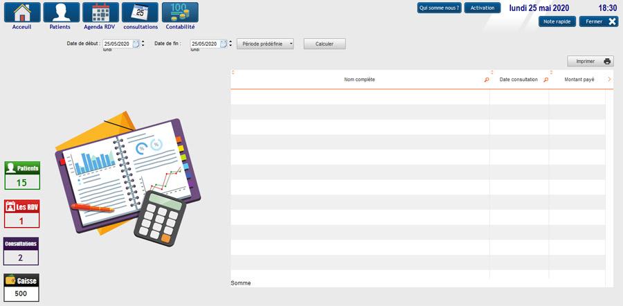 logiciel gestion cabinet medical